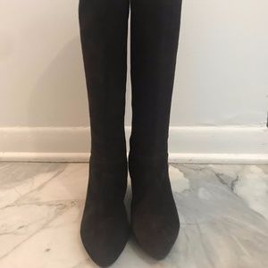 Marc Fisher Dark Brown Suede Boot